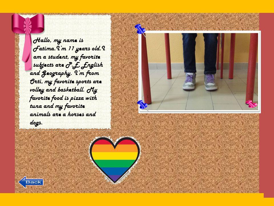 Hello.My name is Diego. I' m 11. I' m a student. I' m from San Zenone.