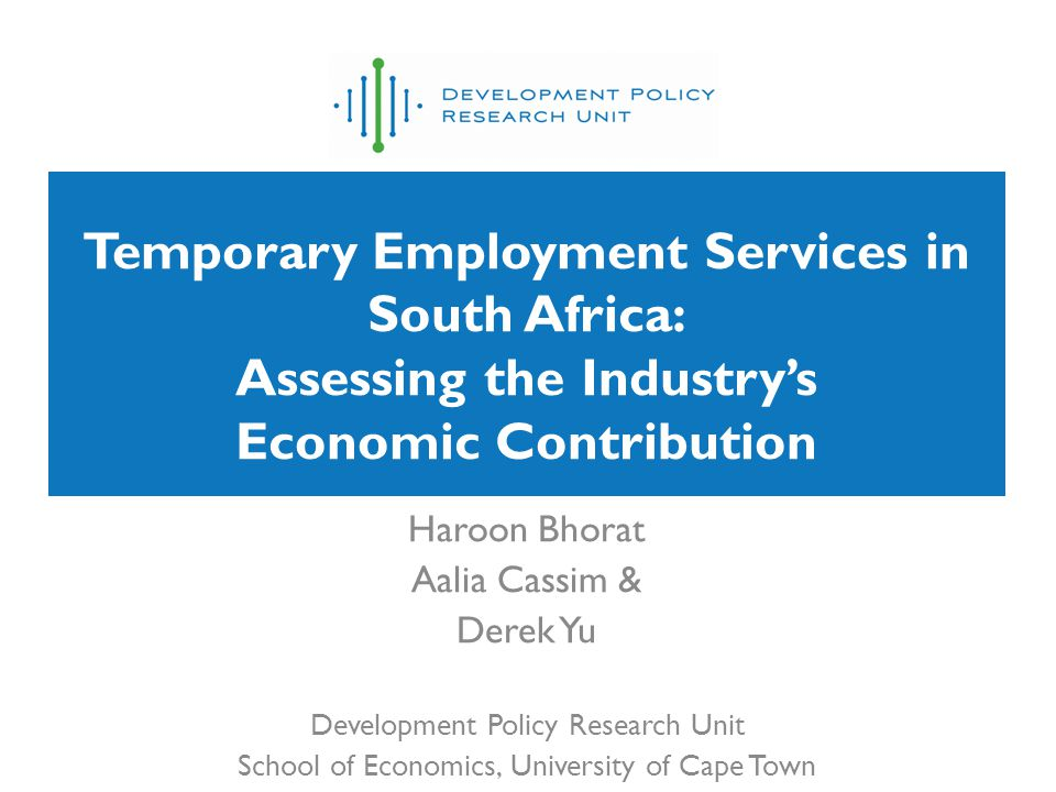 Outline Aggregate Employment Trends: The TES Sector in Context The Advent of Temporary Employment Service Providers –A Case of Statistical Hidden Identity –The Composition of Business Services NEC –Employment Trends by Main Sector Employment Within the TES Sector –Occupational Trends Within the TES Sector –Youth Employment and TES –Are TES Workers Less Likely to be Permanent Employees.