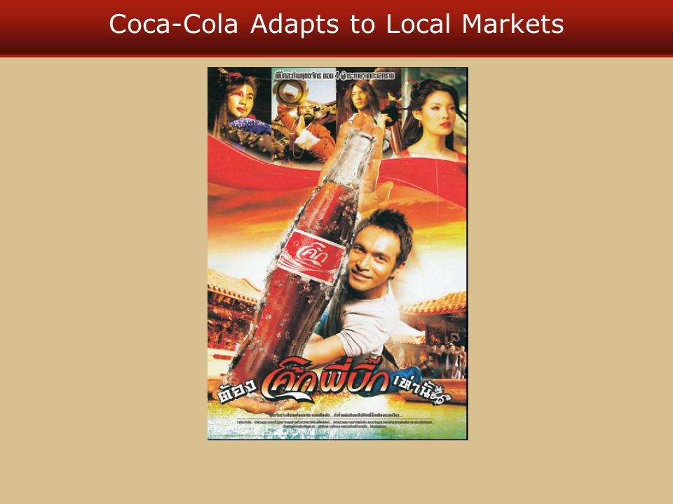 Coca-Cola Adapts to Local Markets