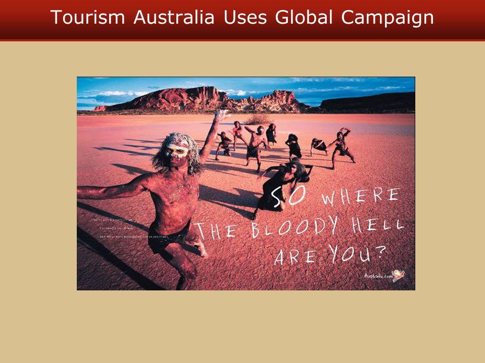 Tourism Australia Uses Global Campaign