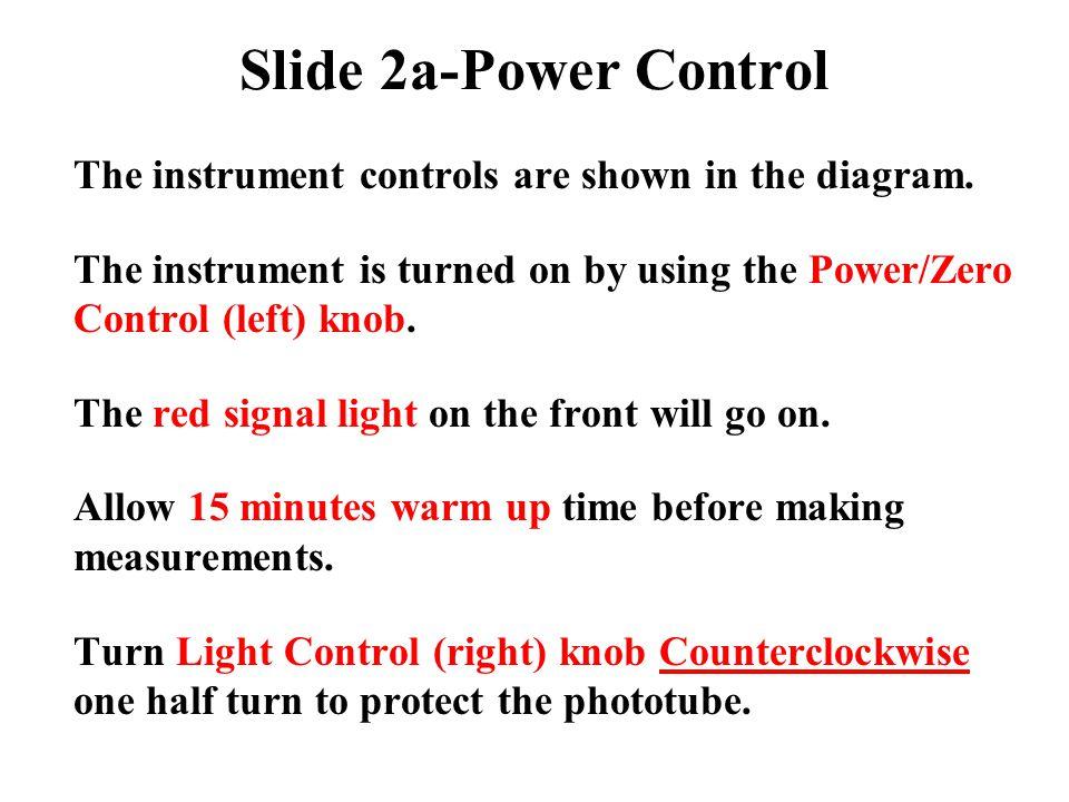 Set Wavelength Use the wavelength control knob to select the desired wavelength on the wavelength scale.