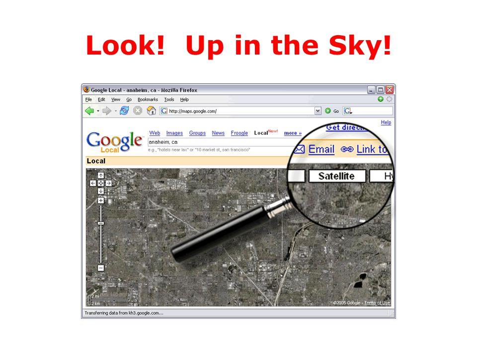Look! Up in the Sky!