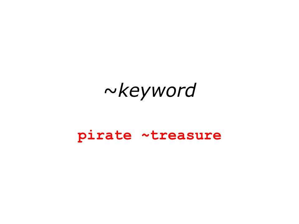 ~keyword pirate ~treasure