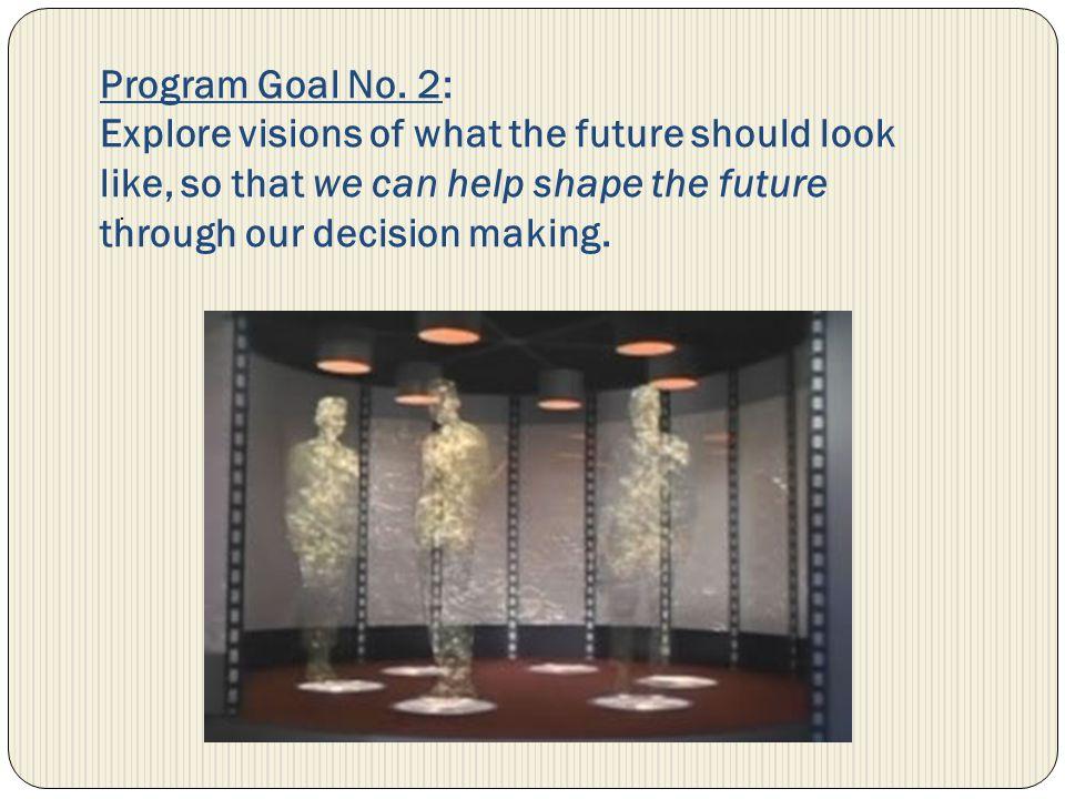 Program Goal No.