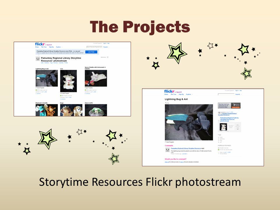 Storytime Resources Flickr photostream