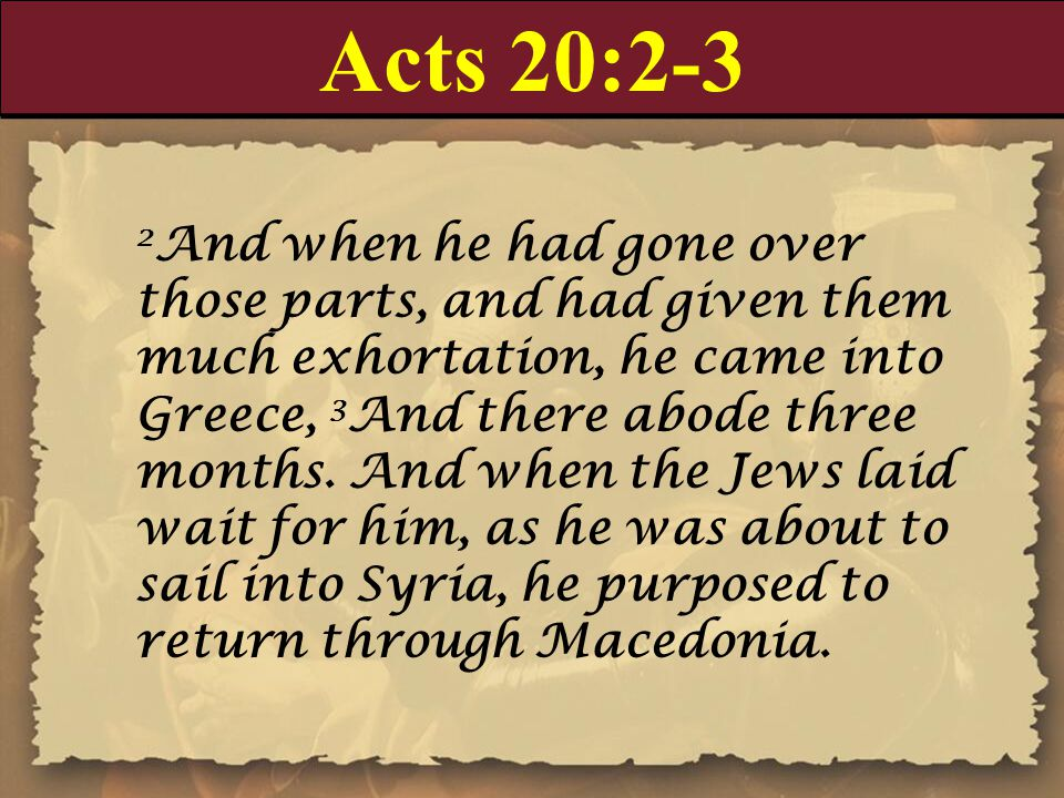 Acts 20:19-20 19 Serving the Lord with all humility of mind, and with many tears, and temptations, which befell me by the lying in wait of the Jews: 20 And how I kept back nothing that was profitable unto you, but have showed you, and have taught you publicly, and from house to house,