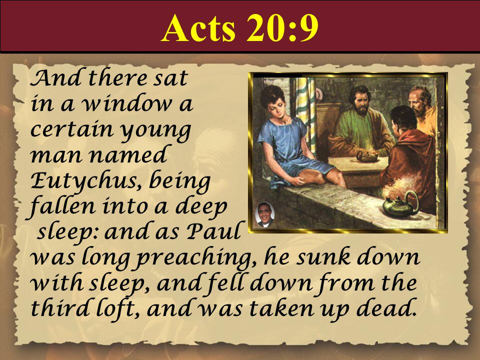 Acts 20:26-27 26 Wherefore I take you to record this day, that I am pure from the blood of all men.