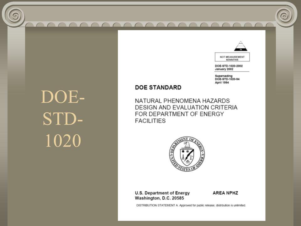 DOE- STD- 1020