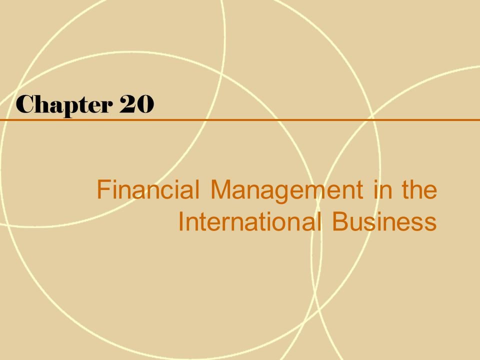 20-3 Introduction Financial management involves three sets of decisions 1.