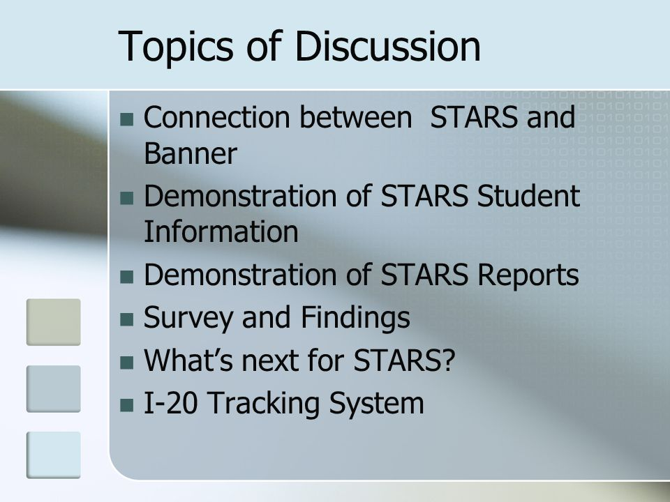 What's next for STARS.Originally designed for academic departments and advisors.