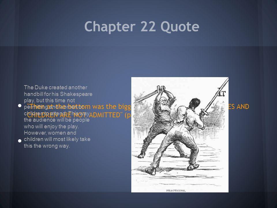 Chapter 22 Quote