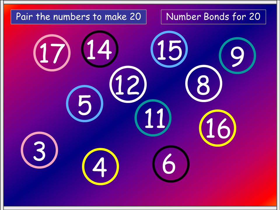 ? 6 11 1 5 7 9 4 8 3 Click on the number that makes the middle number up to14 Click on remaining numbers to remove or go to next slide.