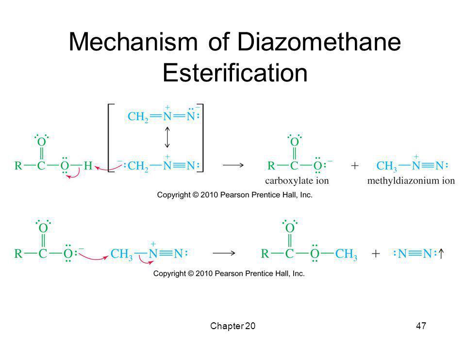 Chapter 2047 Mechanism of Diazomethane Esterification