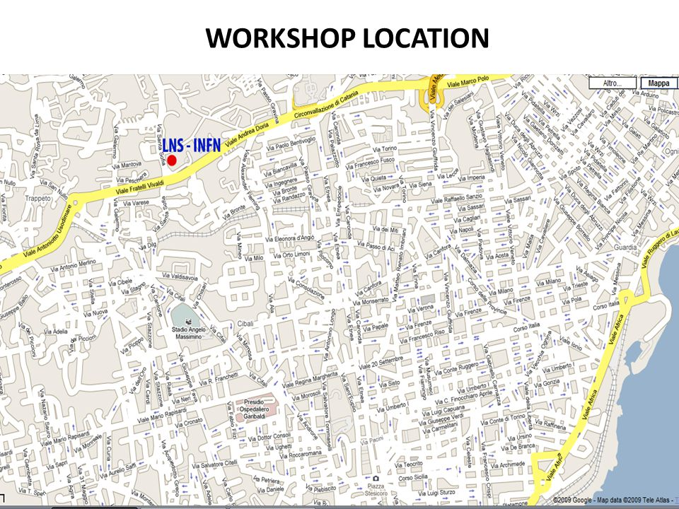 WORKSHOP LOCATION