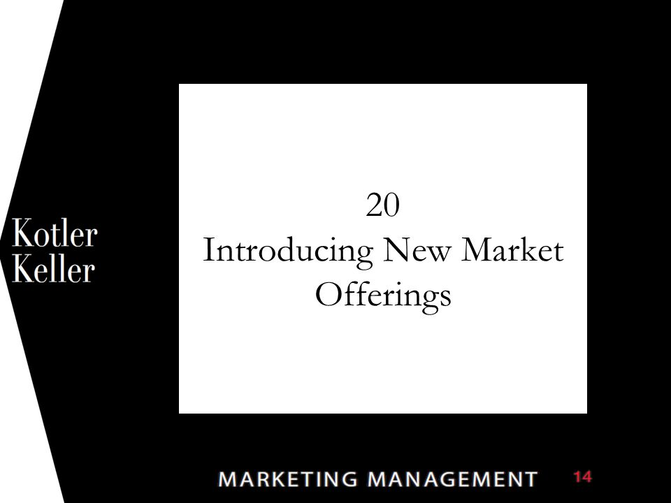 20 Introducing New Market Offerings 1
