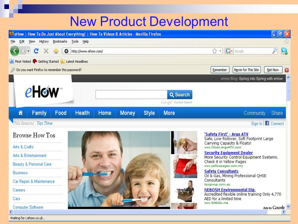 New Product Development 12-13