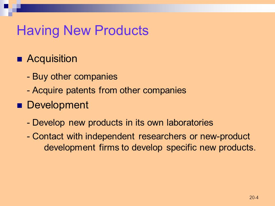 20-5 Categories of New Products New-to-the-world New product lines Additions to product lines Improvements to products Repositionings Cost reductions