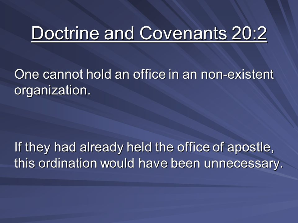 What future event or events could this covenant contemplate.