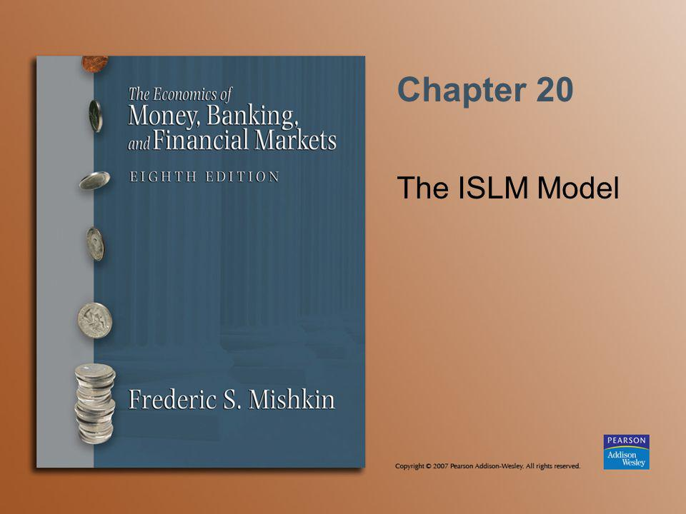Chapter 20 The ISLM Model