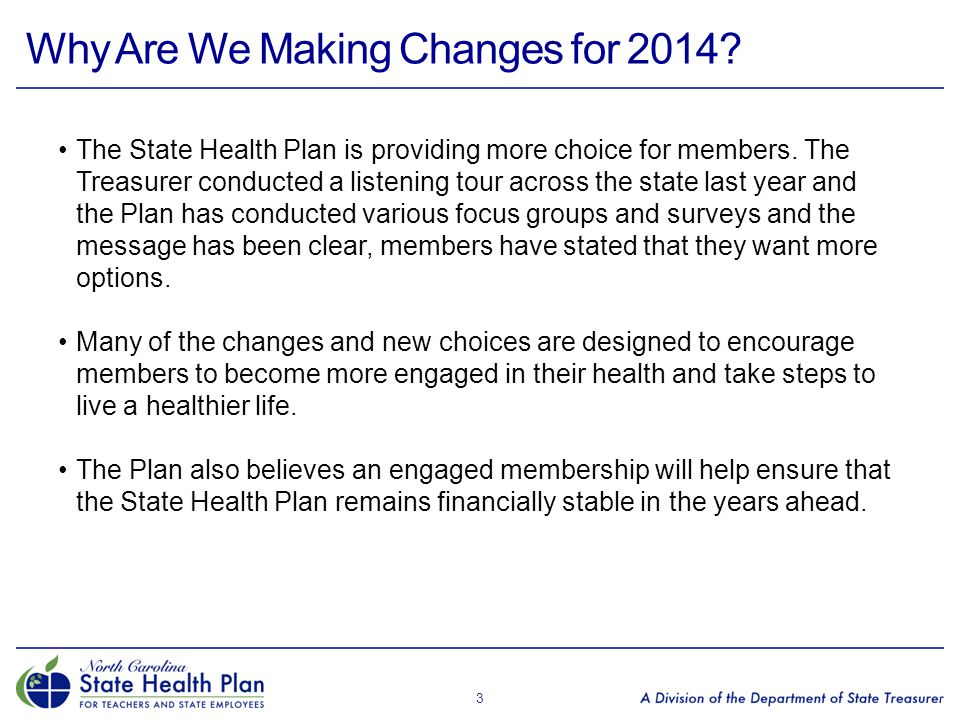 Health Plan Options for 2014 4 Enhanced 80/20 Plan NEW: Consumer-Directed Health Plan (CDHP) with HRA Traditional 70/30 Plan The current Standard 80/20 Plan with a new name to match the new features $0 ACA Preventive Services $0 ACA Preventive Medications New Wellness Incentives Reduced medical copay opportunities A new health plan option A high-deductible medical plan A Health Reimbursement Account (HRA) to help offset the deductible 85/15 Coinsurance $0 ACA Preventive Services $0 ACA Preventive Medications CDHP Preventive Medication List ($0 deductible) New wellness incentives Additional HRA funds for visiting certain providers The current Basic 70/30 Plan with a new name No incentives available No $0 ACA Preventive Services No $0 ACA Preventive Medications Open Enrollment will be conducted October 1 – 31, 2013.
