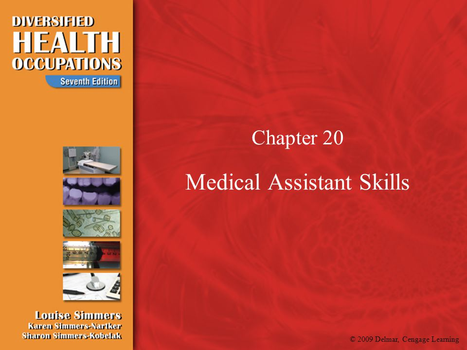© 2009 Delmar, Cengage Learning Skills Lab Measuring height & weight Chapter 20:1 Procedure 20:1A Positioning Patients Chapter 20:2 Procedure 20:2 Positioning, Turning, Moving and Transferring Patients Chapter 21:2 Procedure 21:1 A, B,C, D, E, F