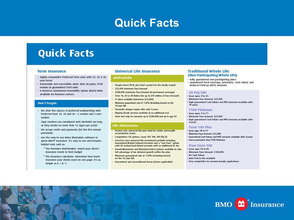 Bmo Insurance Term 30… a value-added term insurance