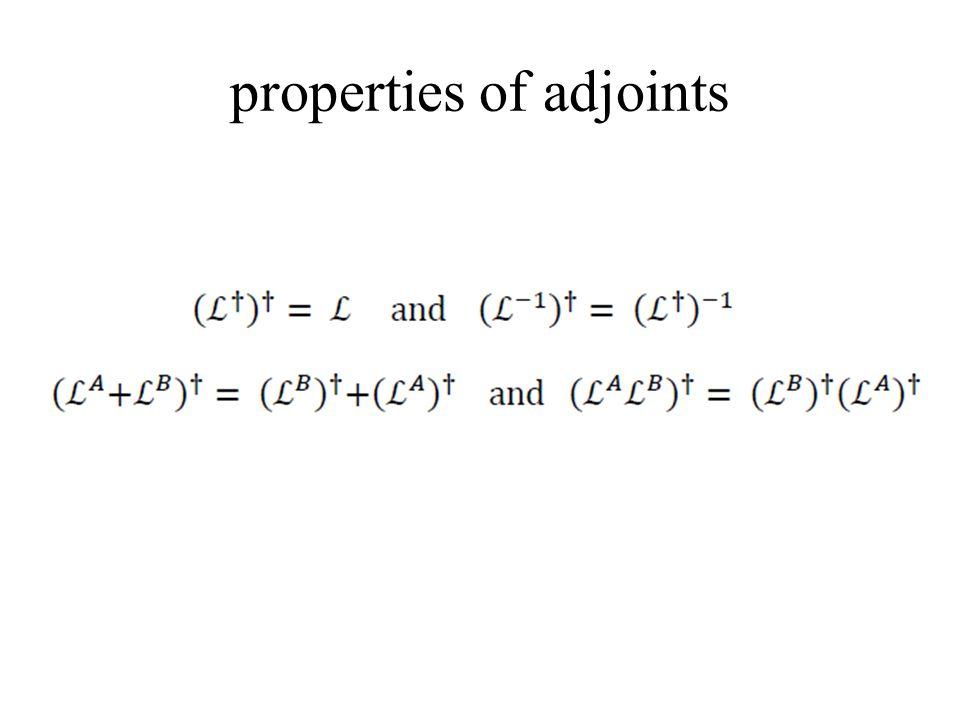 properties of adjoints