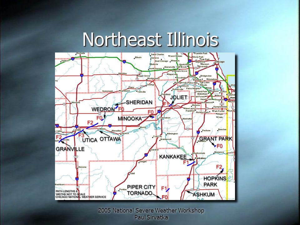 2005 National Severe Weather Workshop Paul Sirvatka Radar Review