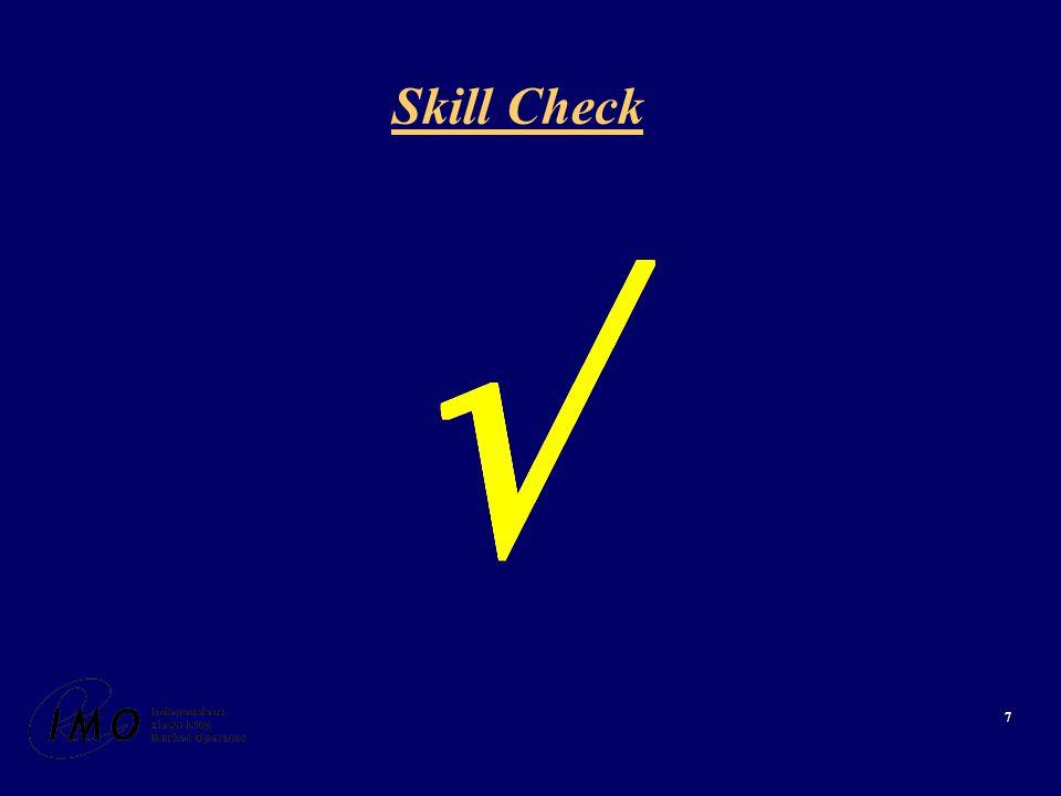 7 Skill Check