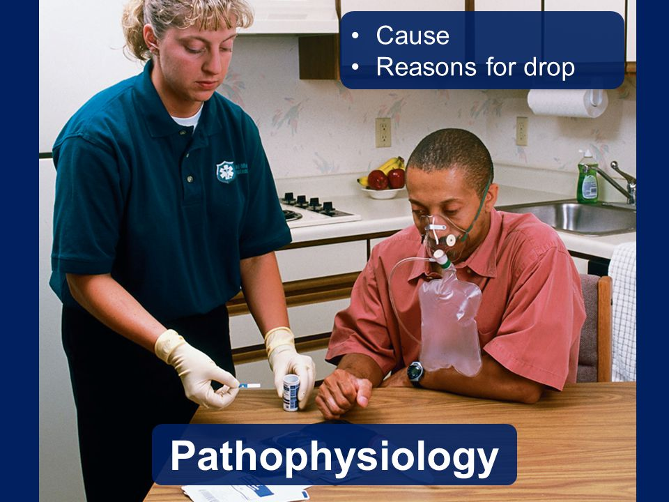 Pathophysiology Cause Reasons for drop