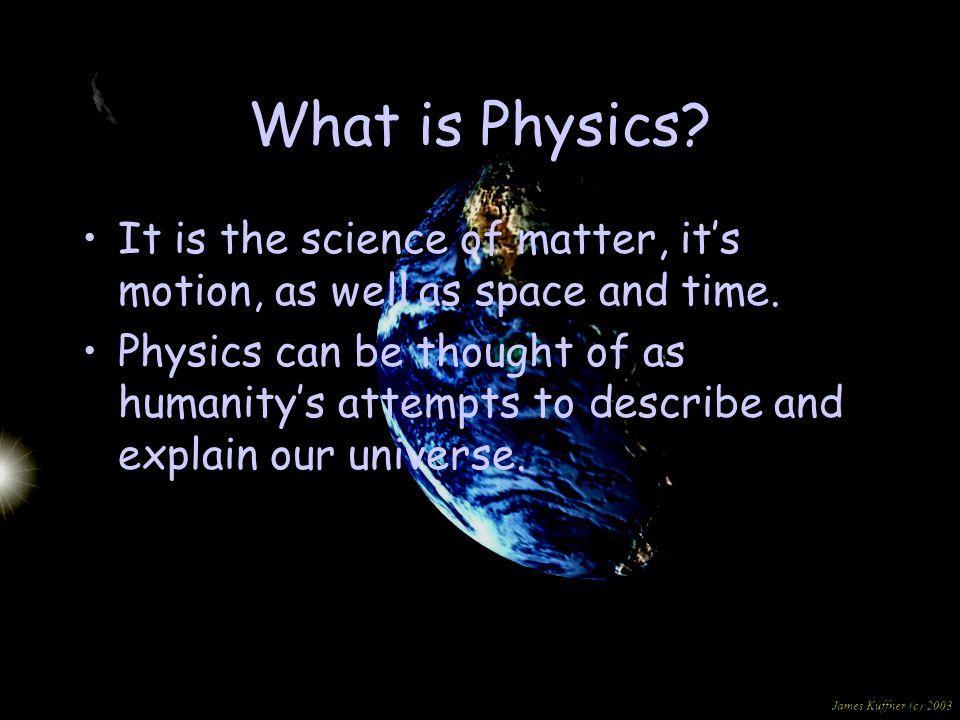 Where Did Physics Start?
