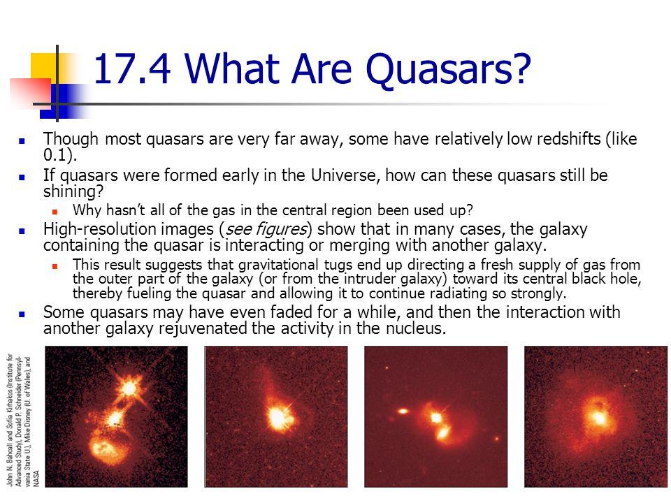 17.4 What Are Quasars.
