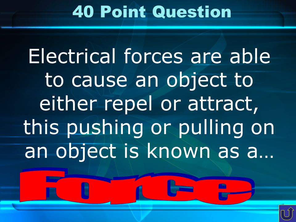 30 Point Question These are the units when we determine the resistance in a circuit