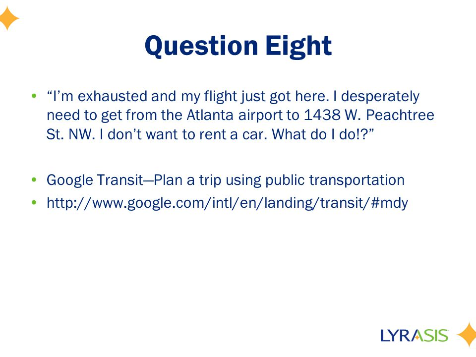 Question Nine There are so many travel search sites out there.