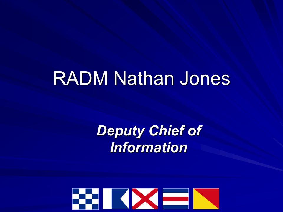 RADM Nathan Jones Deputy Chief of Information