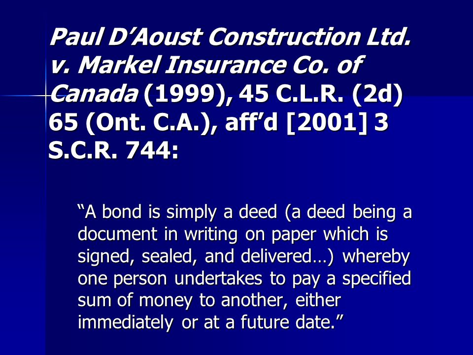 Paul D'Aoust : If a deed is not delivered, it is not effective.