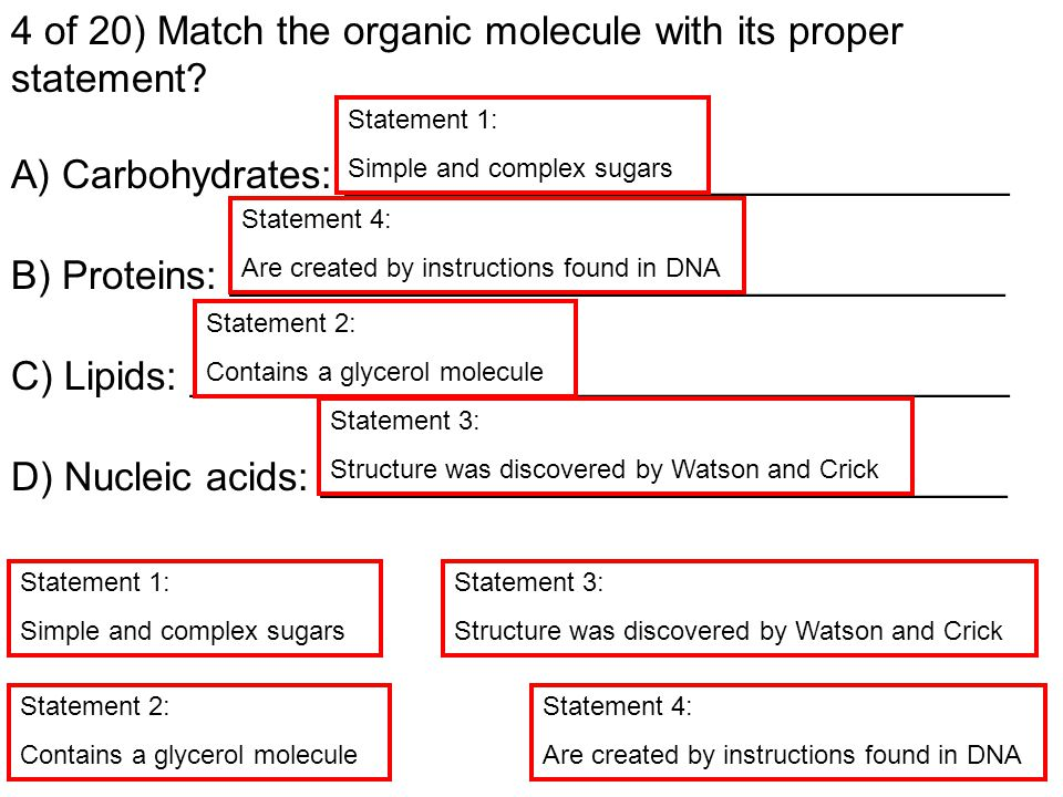 3 of 20) Three part question: Examine the amino acids below.