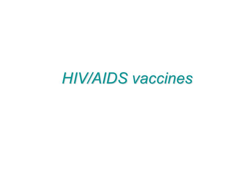 HIV/AIDS vaccines