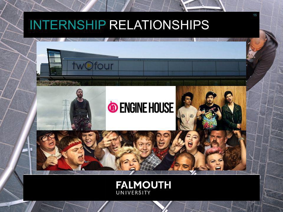 15 INTERNSHIP RELATIONSHIPS 15