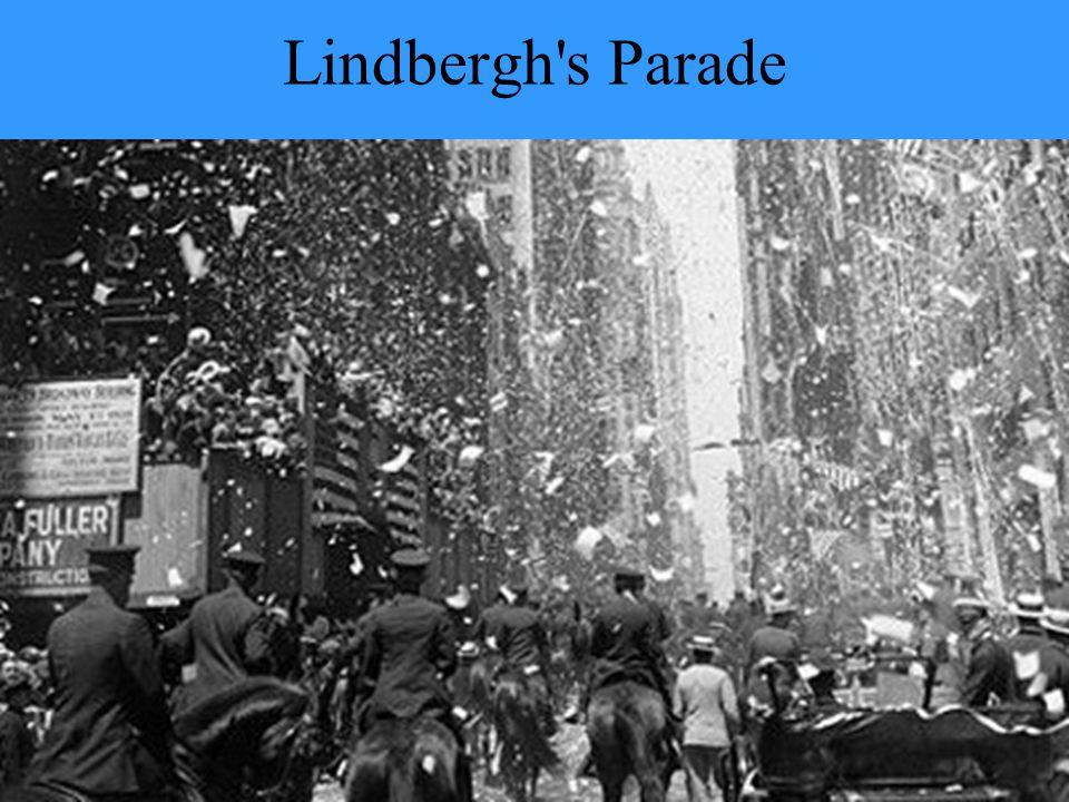 Lindbergh s Parade