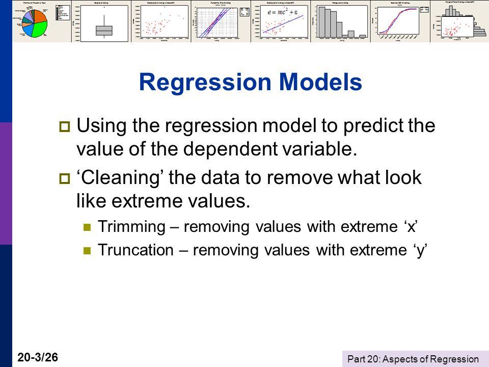 Part 20: Aspects of Regression 20-14/26 39.5 x 39.125.