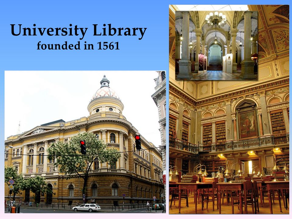 University Library founded in 1561