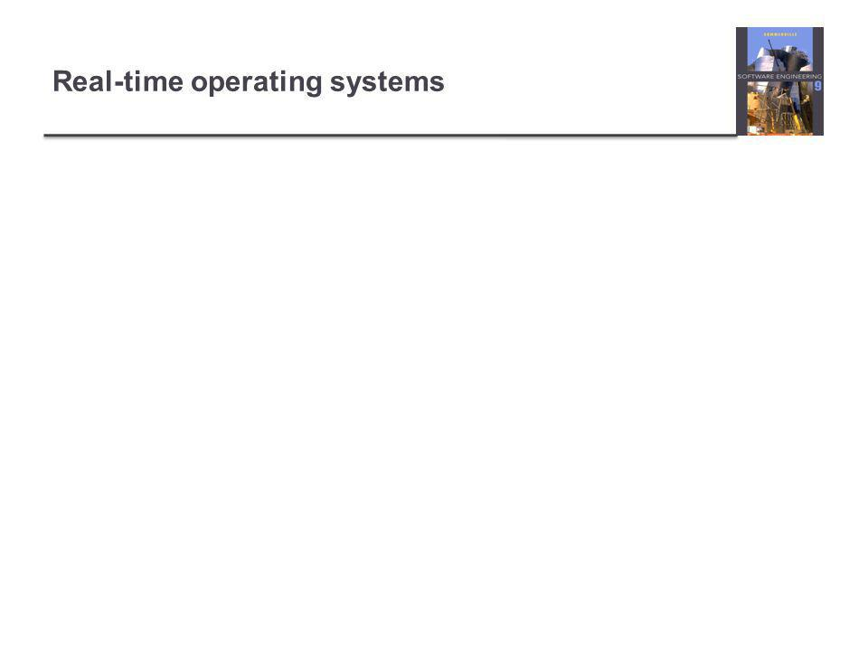 Real-time operating systems