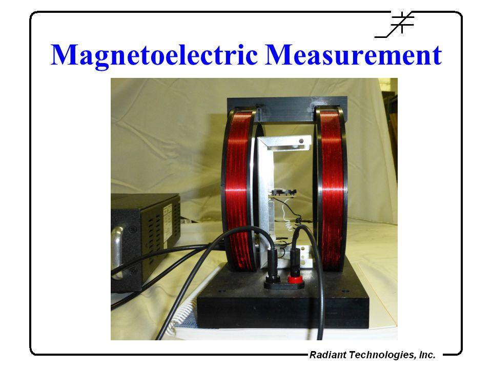 Magnetoelectric Measurement
