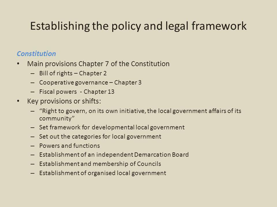 Fiscal framework and financial management FFC 2012/13