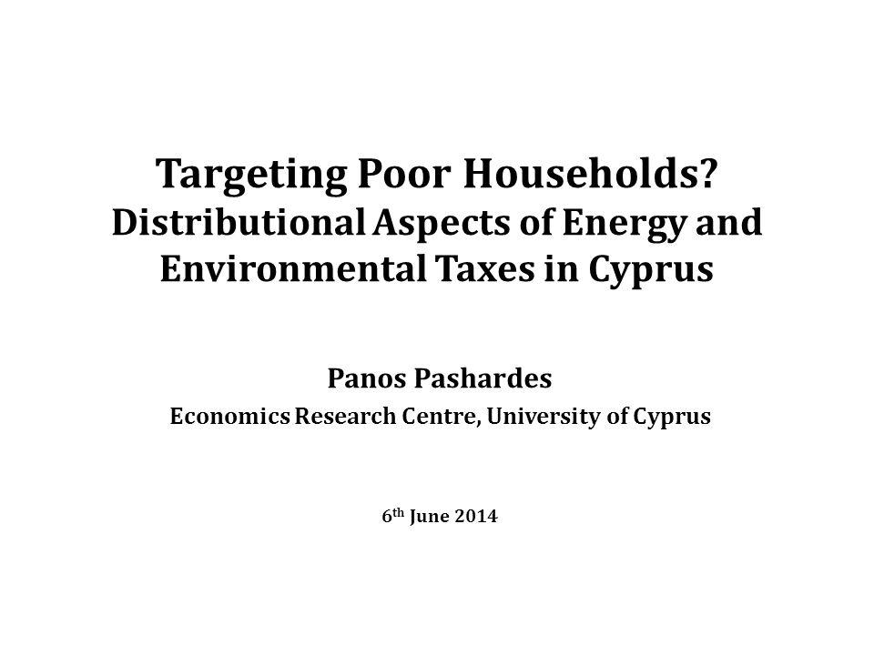 Targeting Poor Households.