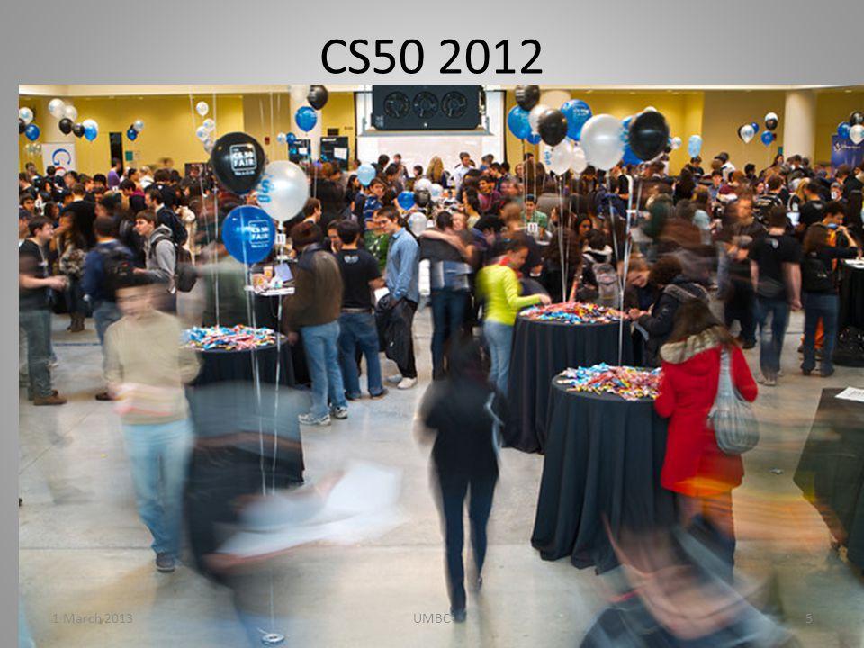 CS50 2012 1 March 20135UMBC
