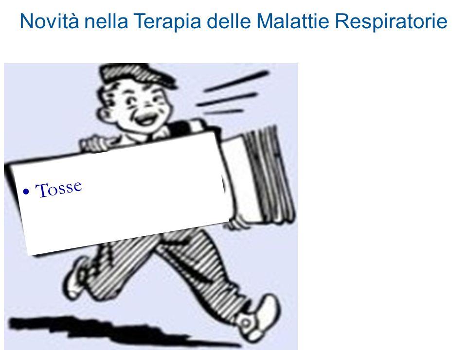 Novità nella Terapia delle Malattie Respiratorie Tosse