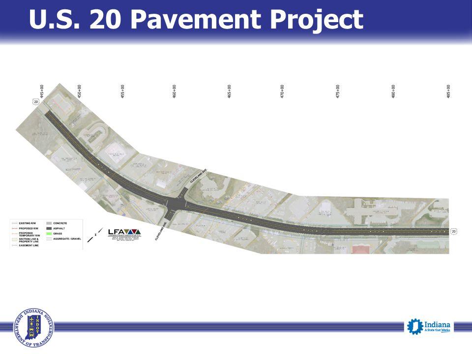U.S. 20 Pavement Project