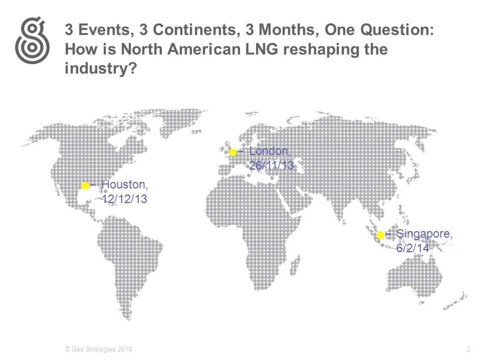 3 Events, 3 Continents, 3 Months, One Question: How is North American LNG reshaping the industry.